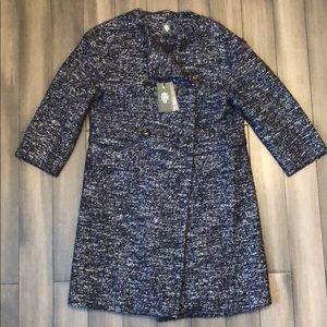 NWT Eleventy dress coat